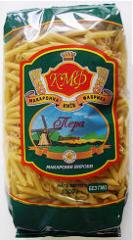Korotkorezany Feathers pasta in packagings of 400