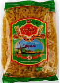 Pasta 'Spiral' in packagings of 400 g,