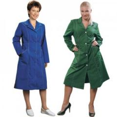 Dressing gowns for cleaners from the producer