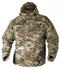 Jackets from camouflage fabric from the producer,