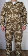 Jackets of military, military camouflage clothes -