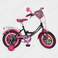 Велосипед 12 P 1257 MH-B детский мульт MH,фигурные