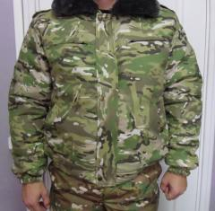 Jacket uniform winter - from the producer, sale