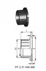 Разъем клапана 546 PVC-U (G04)