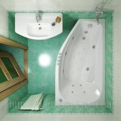 Акриловая ванна Triton Скарлет 1670x960x580