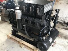 Compressor station PKS-5,25A mobile electric