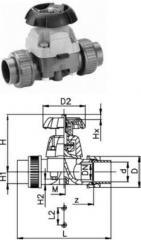 Мембранный клапан Georg Fischer тип 314, ...