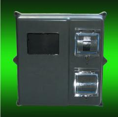 Box for electronic the 1st - 3kh the phase counter