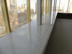 Window sills from LightStone stone