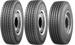 Tires for trolleybuses, domestic and import