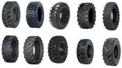 Los neumáticos para la técnica de construcción y