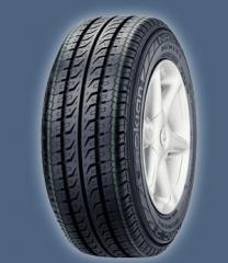Los neumáticos para los microbuses, la producción