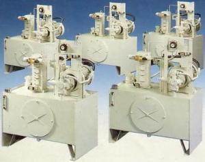Станції гідроприводу із шестеренними насосами