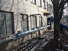 Shnekovy conveyor conveyor
