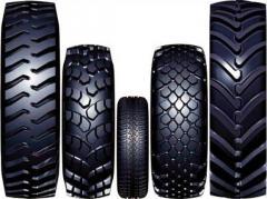 Los neumáticos de las fábricas de Ucrania: