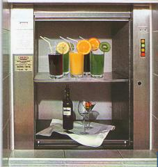 The kitchen elevator, the elevator for restaurant,
