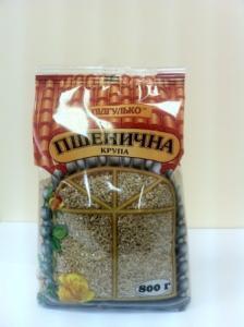 Крупа пшеничная  фасованная высшего сорта ТМ