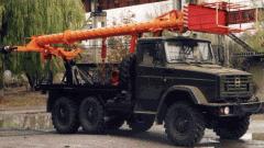 Вышка телескопическая ТВ-26Е2 для подъёма рабочих