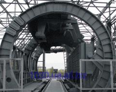 Вагоноопрокидыватель роторный ВРС - 134М