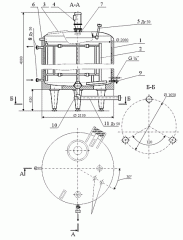 Tank dairy RM-6 (Ya1 OSV-6,3 type)
