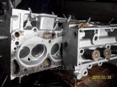 Головка блока цилиндров ЗИЛ, ГБЦ  двигателя под газ.