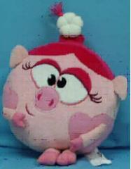 Soft toy pillow of Smeshariki pig Nyusha