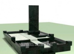 Gabbro monuments export, local stone