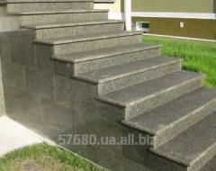 Лестницы из гранита, покостовское месторождение