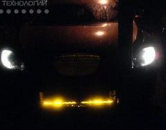 Автотюнинг с помощью подсветки на светодиодах,