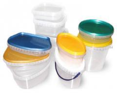 Тонкостенная пластмассовая тара