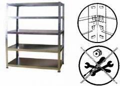 Las estanterías la fabricación de cualquier
