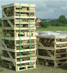 Дрова из разных пород древесины