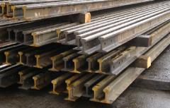 R-65 rails, materials VSP, railway fixture,