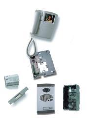 Комплект видеодомофона на 1-го абонента Alcad S.A,