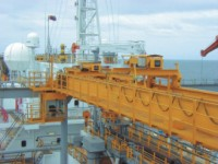 Bridge cranes for ocean ships double-beam basic -