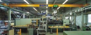 Single-beam basic crane