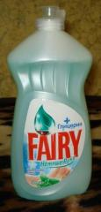 Detergent of Fairey of 1 l. Household chemicals