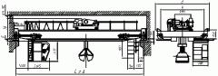 Краны мостовые электрические грейферные г/п