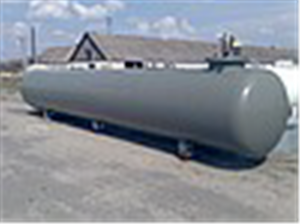 Gas-holders. Reservoir propane-butane, underground for a liquefied gas, volume 9,15m3 productions VPS, Deltagaz Czech Republic