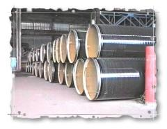 Pipe steel electrowelded straight-line-seam big