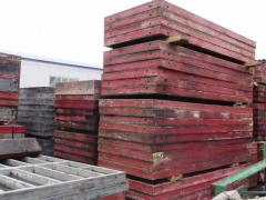 Boards of wall formwork of the producer of