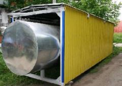 The equipment capacitor for storage of gas-liquid
