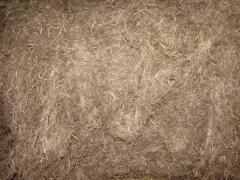 Tow construction, flax fiber construction.