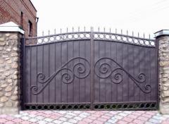Петли для ворот металлические