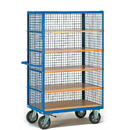 Carts are cargo, mesh containers