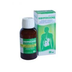 Intestinal antiseptics - Nifuroksazid suspension