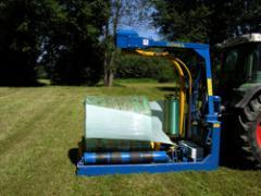 Навесная машина для обмотки тюков агро-стрейч