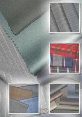 Fabrics worsted
