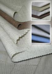Fabrics of structure viscose-polyester and