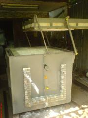 Electric for annealing to Bake furnaces for